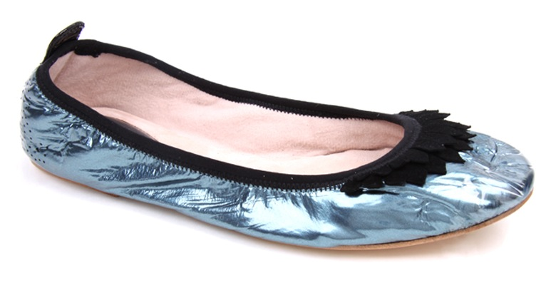Bloch Ballerina Flats & Dylan George Jeans