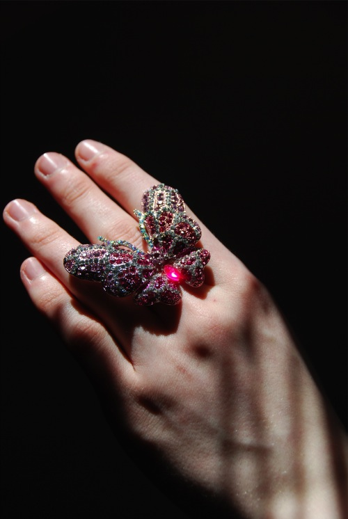 butterfly 3 CLOSED! Fantasy Jewelry Box Crystal Butterfly Ring & Your Chance To Win One!