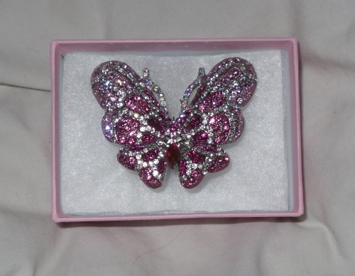 butterfly 9 CLOSED! Fantasy Jewelry Box Crystal Butterfly Ring & Your Chance To Win One!