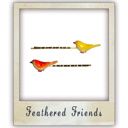 Eb Feathered Friends Hair Pins Filippo Loreti Review Silver Venice