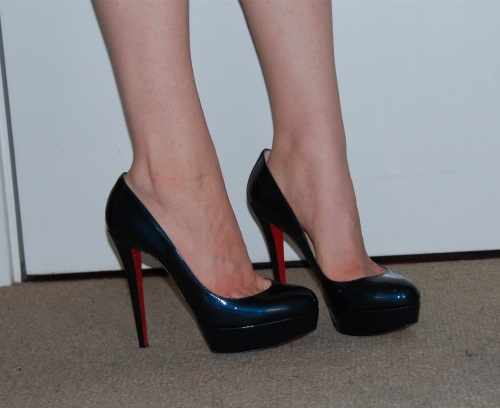 christian louboutin 120mm bianca