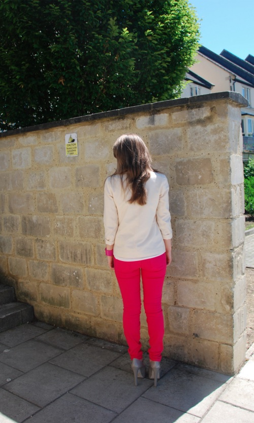 current elliott pink 12 The Bright Rose Jeans