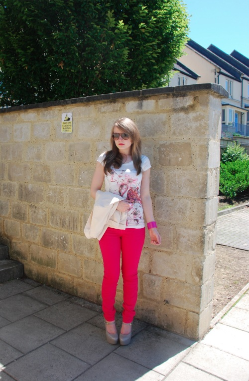 current elliott pink 17 The Bright Rose Jeans