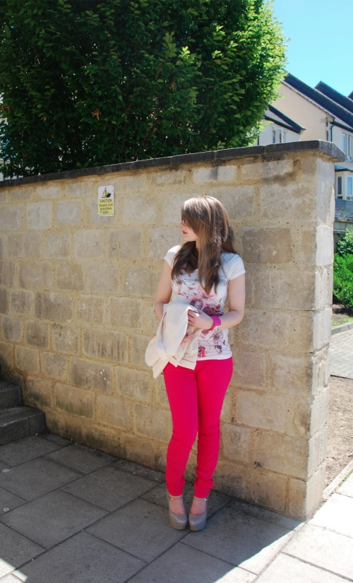 current elliott pink 20 The Bright Rose Jeans