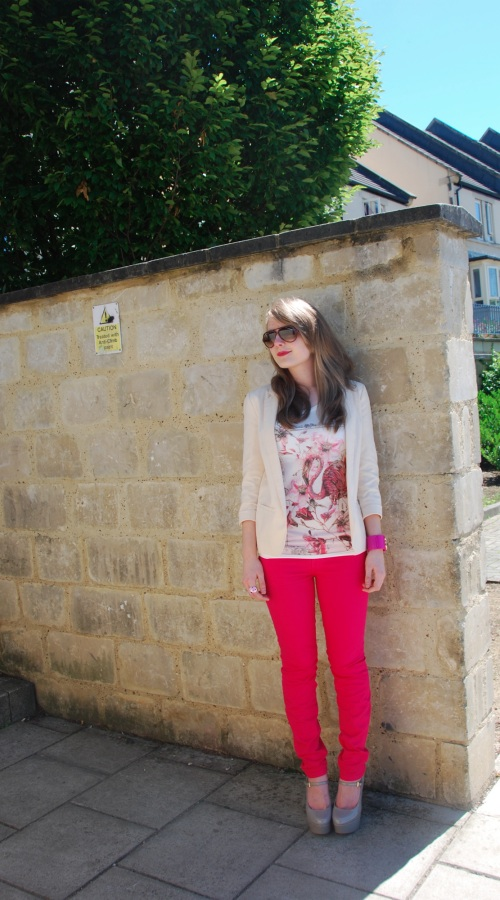 current elliott pink 3 The Bright Rose Jeans
