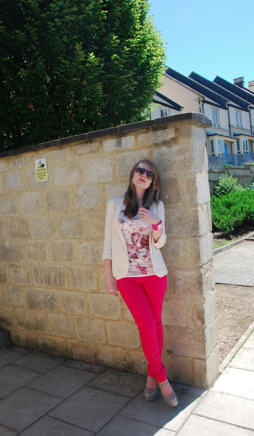 current elliott pink 6 The Bright Rose Jeans