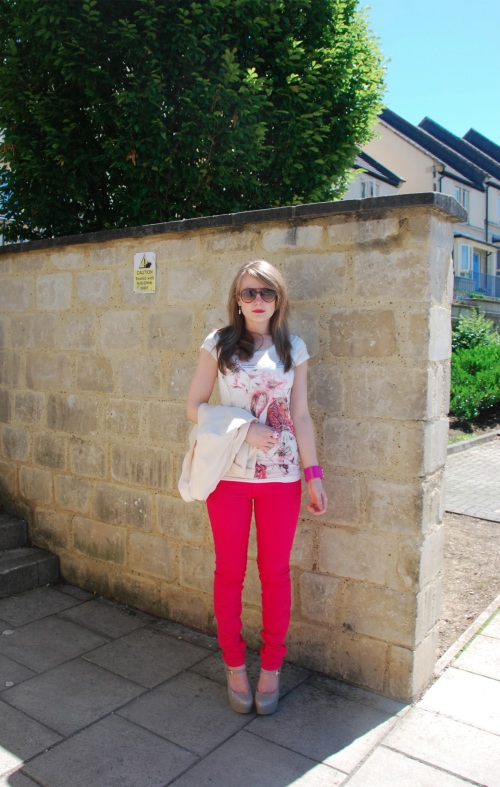 lorna burford pink jeans The Bright Rose Jeans