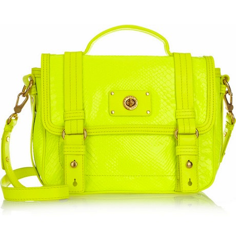 neon marc jacobs bag