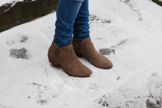 sam edelman petty boots Hints Of Neon In The Snow