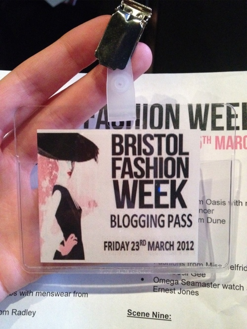 bfw46 Live Bloggers Event At Bristol Fashion Week