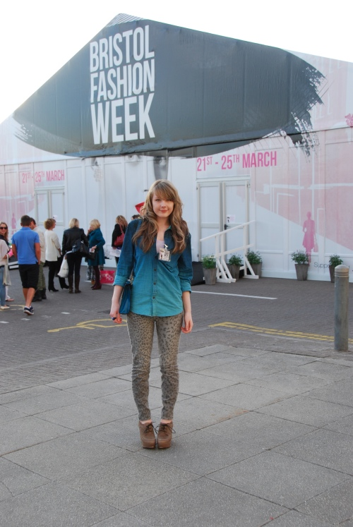 bfw lorna 2 Ombre Denim & Leopard At Bristol Fashion Week