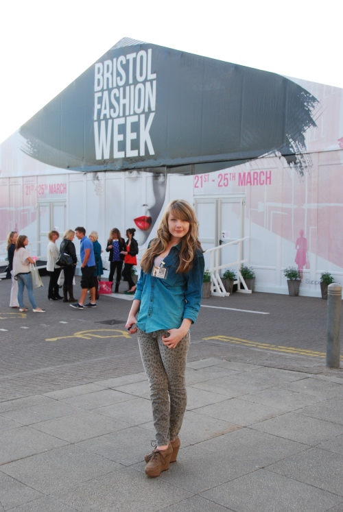 bfw lorna 3 Ombre Denim & Leopard At Bristol Fashion Week
