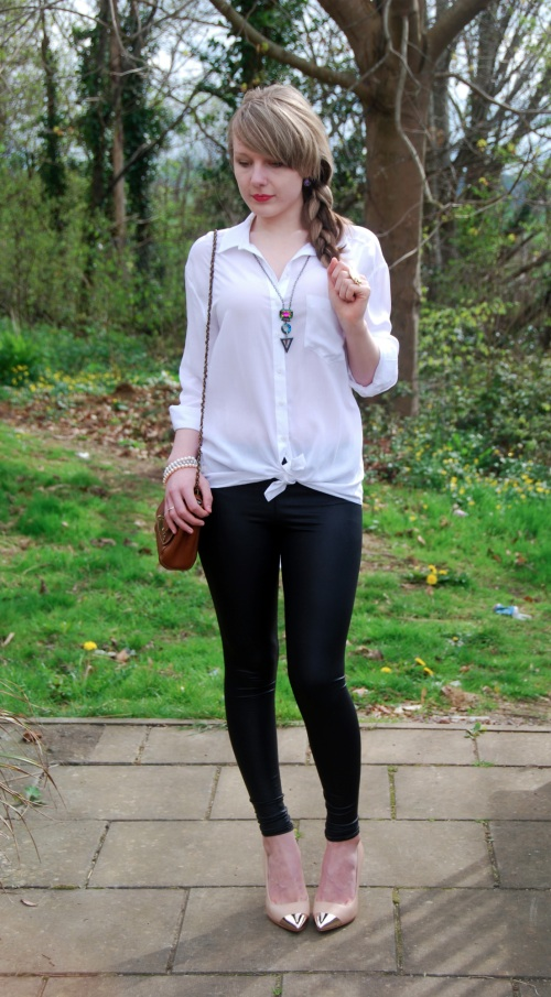 leggings shirt 5 Black & White With My Mulberry Oak Lily
