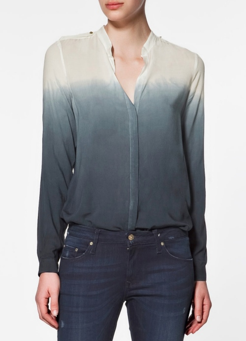zara dip dye shirt In Love With Dip Dye Ombre