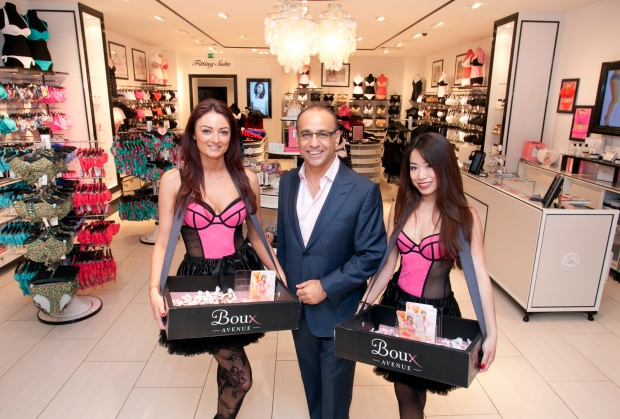 boux avenue Theo Paphitis  Boux Avenue Lingerie Boutique Launch With Theo Paphitis