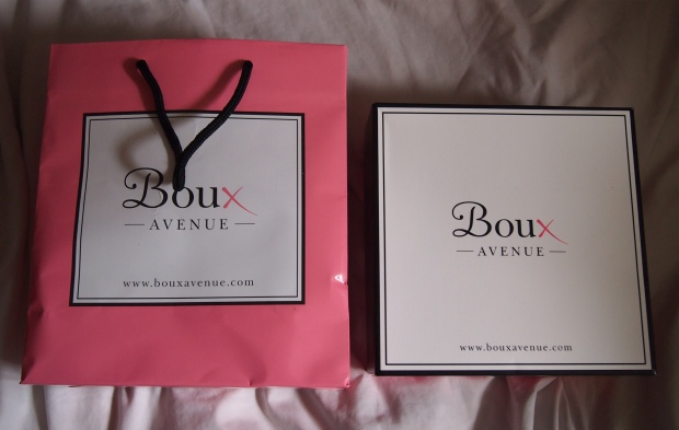 boux avenue packaging 2 Boux Avenue Lingerie Boutique Launch With Theo Paphitis