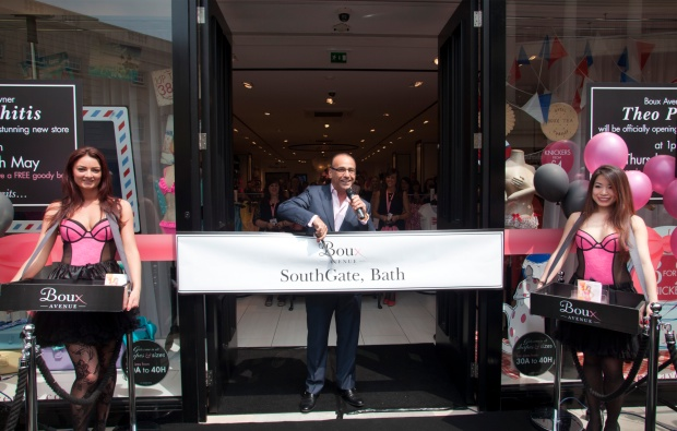 boux avenue theo paphitis 2 Boux Avenue Lingerie Boutique Launch With Theo Paphitis