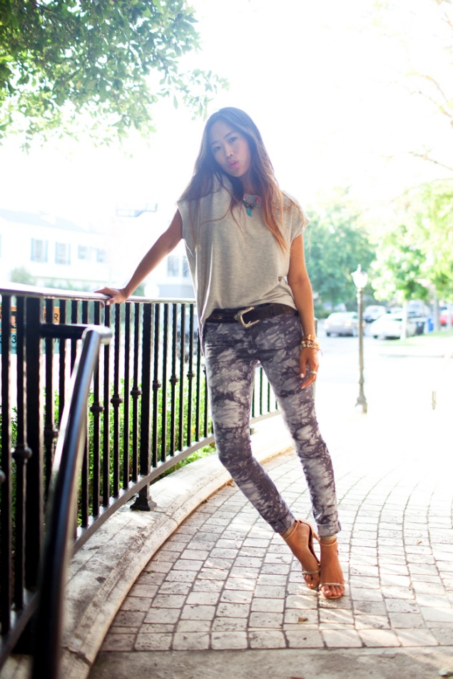 aimee song song of style j brand Raindrops Of Sapphires 5 Favourite Fashion Bloggers