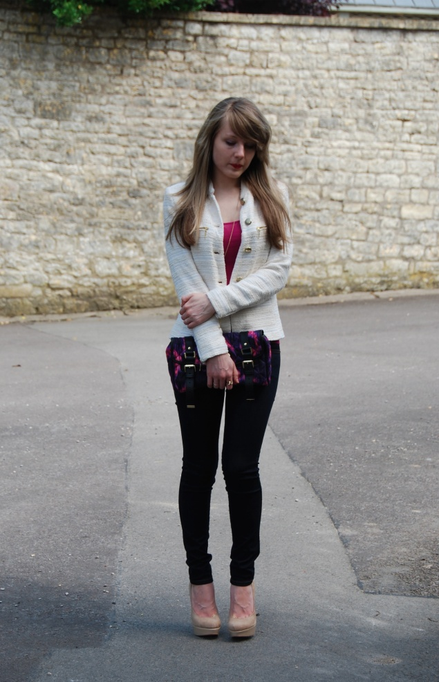 lorna burford zara The Zara Chanel Inspired Jacket And Mulberry Clutch
