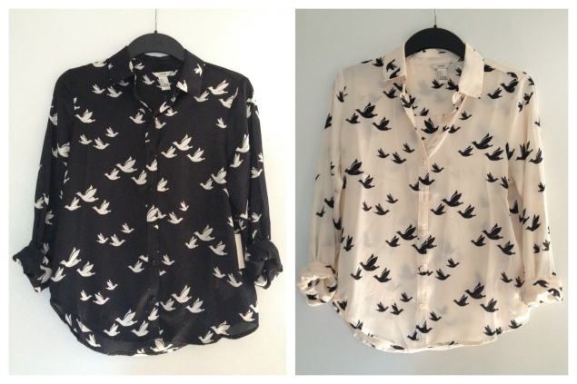 forever 21 bird shirt My New Purchases From London