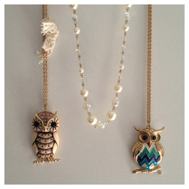 forever 21 owl bead necklace My New Purchases From London