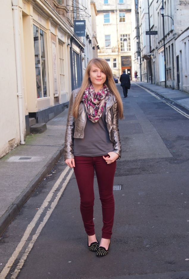 lorna-burford-metallic-jacket-koral-jeans
