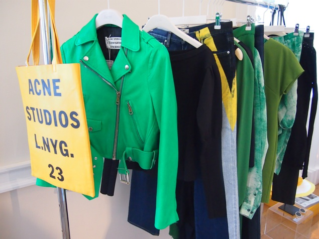 acne ss13 8 Spring 2013 Press Days: Lulu Guinness, Coach, Dodo, J Brand, Diesel, MiH, Acne & Pinko
