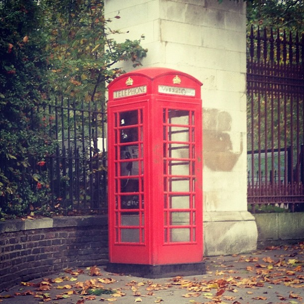 london phone box My Casual London Style For Press Events