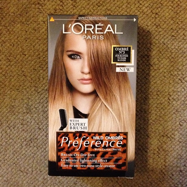 loreal wild ombre blonde My DIY Blonde Ombre Dip Dye Hair