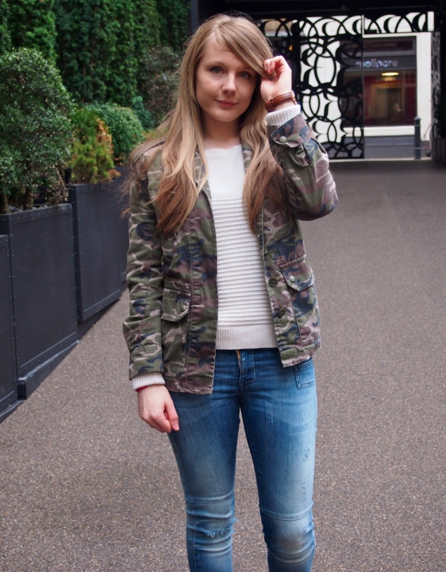 lorna burford camo casual My Casual London Style For Press Events