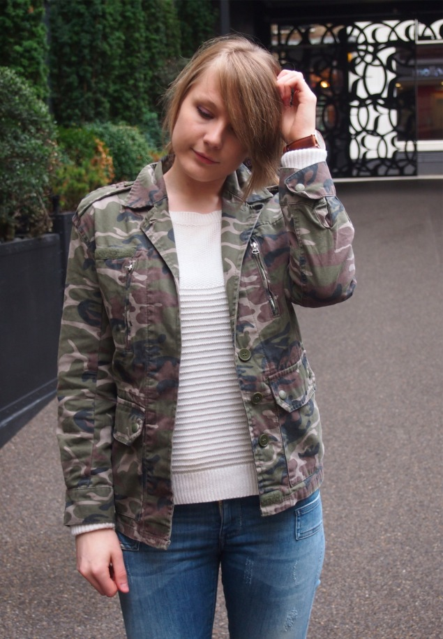 lorna burford camo My Casual London Style For Press Events
