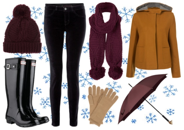 winter-rain-weather-outfit – Raindrops of Sapphire