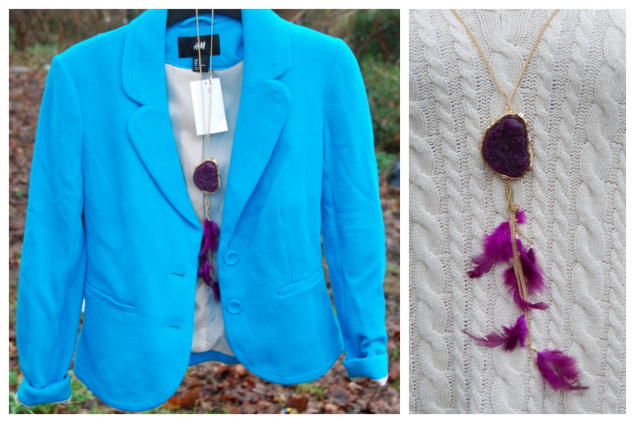 blue-blazer-purple-necklace