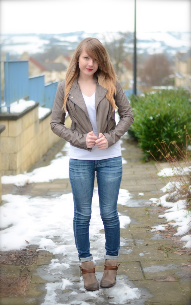 hudson horrigan boots jeans My Outfits From January