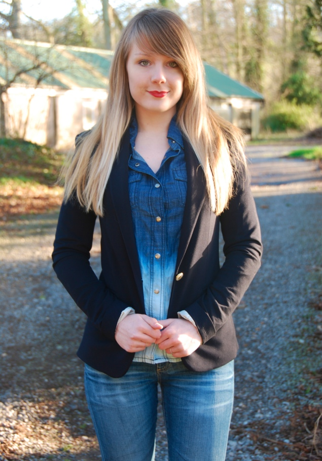 ombre-denim-shirt-navy-blazer