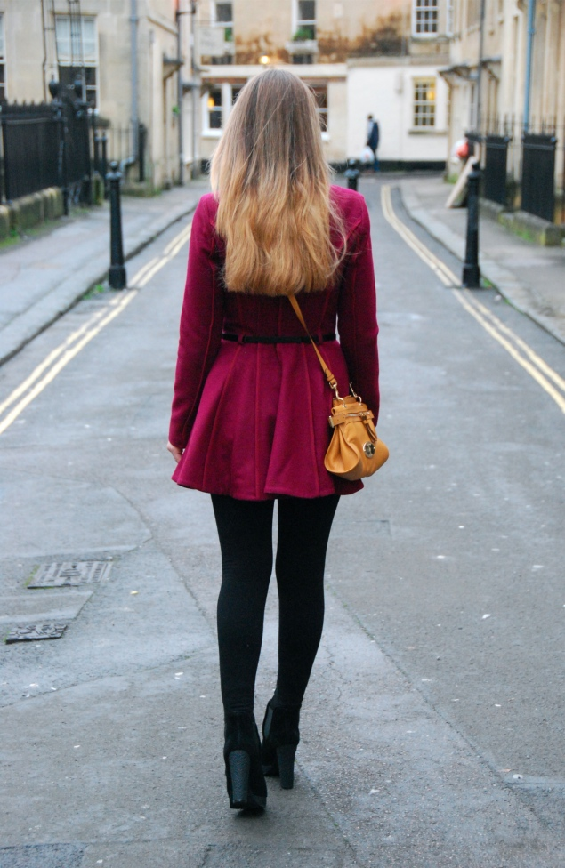 ombre-hair-burgundy-coat