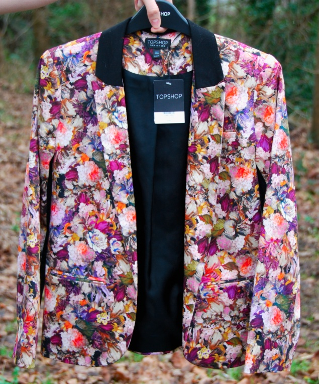 topshop floral blazer New Clothes Purchases