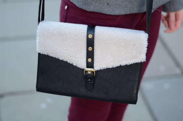 asos-black-shearling-bag