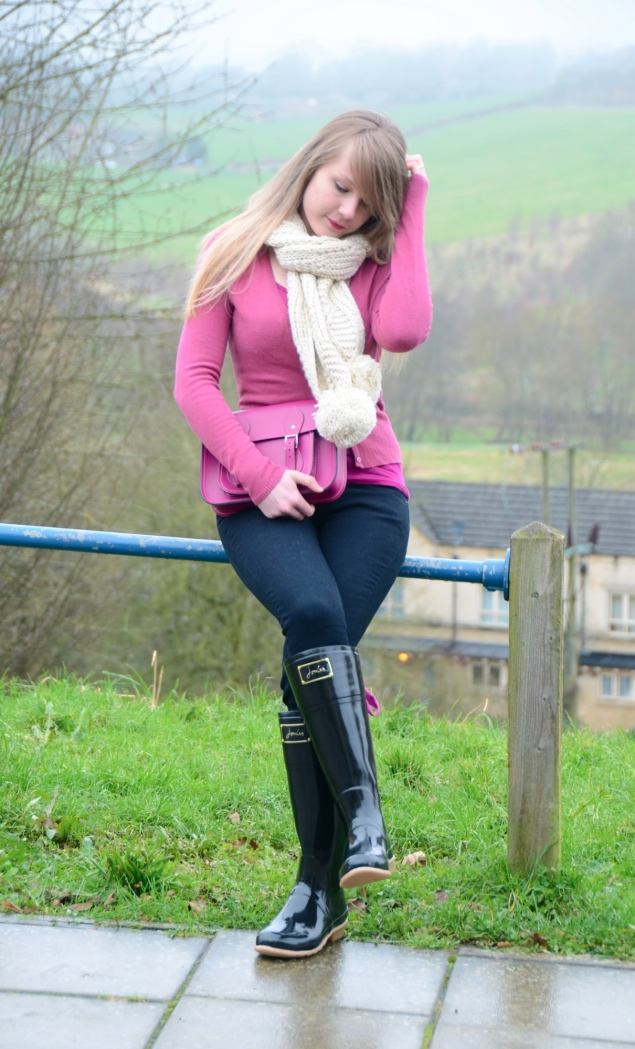 black pink wellies country Country Girl At Heart