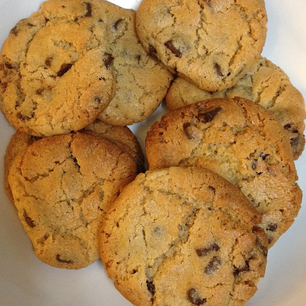 Some cookies I baked.