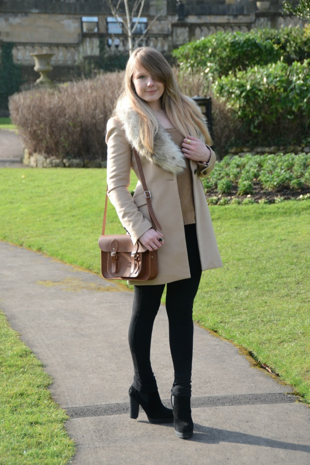 lorna burford faux fur coat My Outfits From February