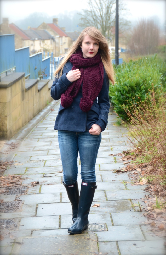 lorna-burford-navy-hunter-wellies