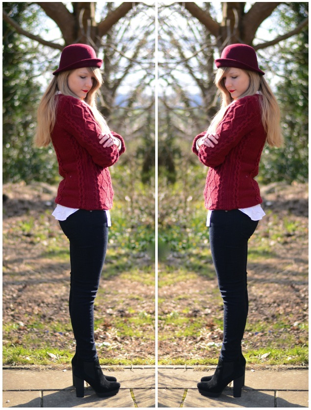 red-jumper-black-jeans
