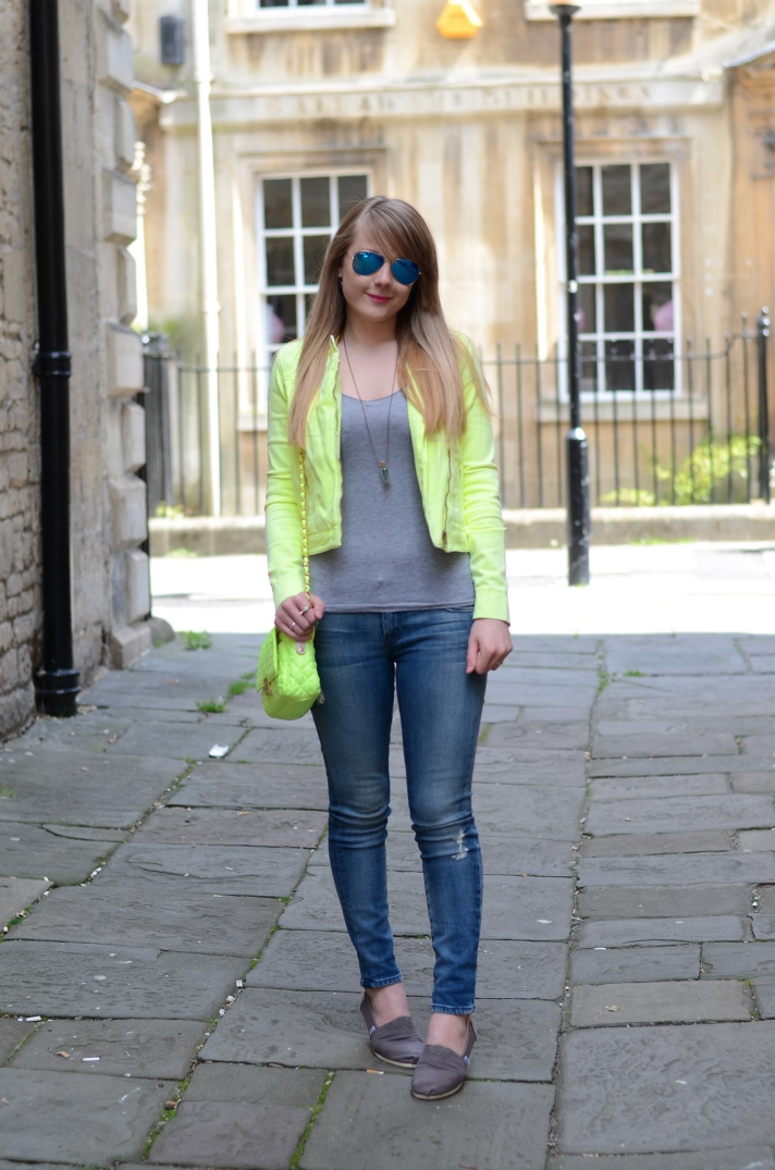 lorna burford topshop neon yellow jacket Its Time To Bring Out The Neon Yellow