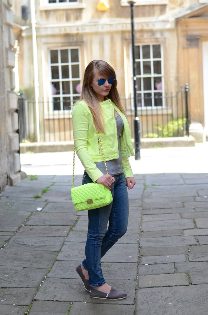 neon yellow outfit bag Its Time To Bring Out The Neon Yellow