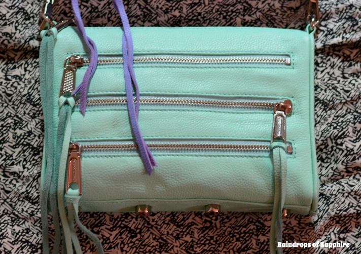 rebecca minkoff mini 5 zip mint1 Rebecca Minkoff Lilac Mini Mac & Mint Mini 5 Zip