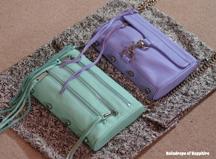 rebecca minkoff mini mac lilac mini 5 zip mint Rebecca Minkoff Lilac Mini Mac & Mint Mini 5 Zip