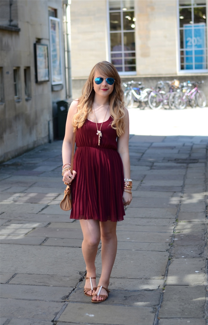 asos-burgundy-dress