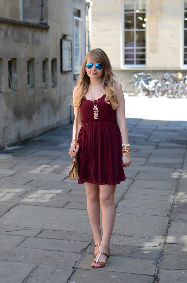 burgundy-asos-dress