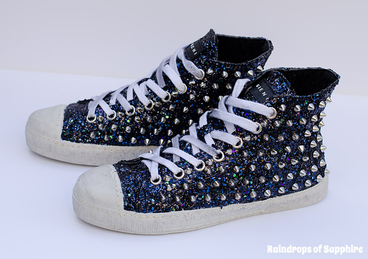 gienchi-glitter-spike-stud-sneakers